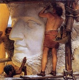 Alma_Tadema_Sculptors_in_Ancient_Rome