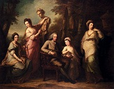 Portrait_Of_Philip_Tisdal_<p>With_His_Wife_And_Family